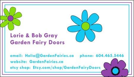 Garden Fairy Doors - Bob & Lorie Gray - GardenFairies.ca