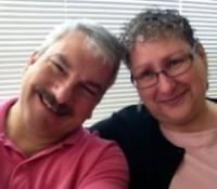 Lorie and Bob - Pink Shirt Day - GardenFairies.ca