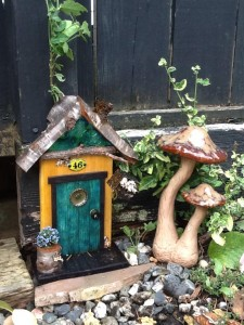 Annie R - Customer - Fairy Door Picture - GardenFairies.ca