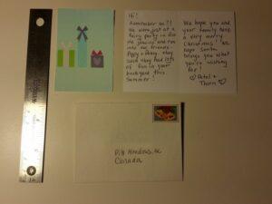Fairy Christmas Card - Projects Blog - GardenFairies.ca