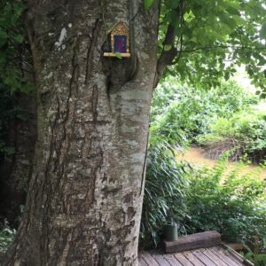 Garden Fairy Doors customer Annie R. - GardenFairies.ca