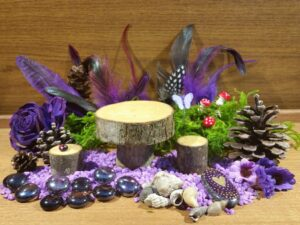 Purple Fairy Garden Kit - 2