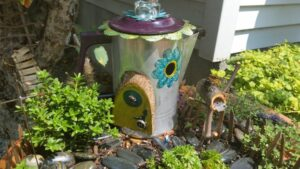 In our garden - Garden Fairy Doors - GardenFairies.ca